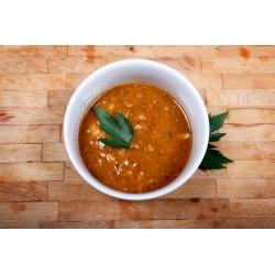 Drštková polévka do kyblíčku (2 porce za 65 Kč)