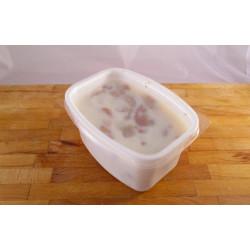 Škvarky v sádle ve vaničce (cca 500g)